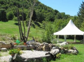 Der Garten im Agrotourismus