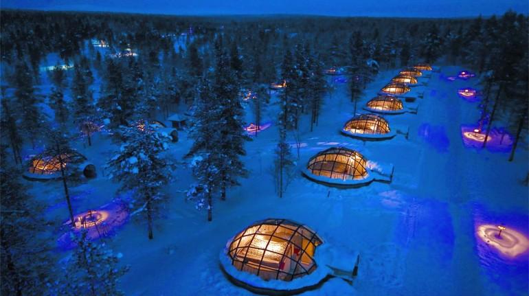 Artic resort