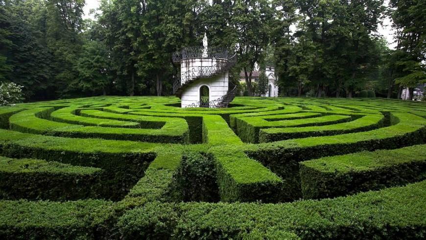 Labyrinth von Villa Pisani, Stra, Venedig