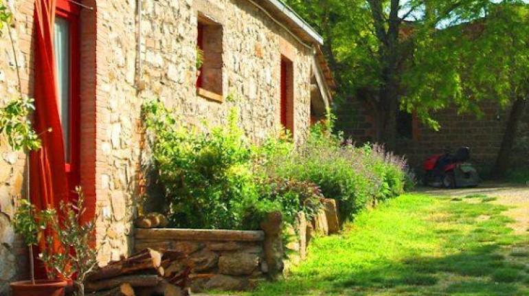 Biologische Lebensmittel und Natur auf den Hügeln von Orvieto
