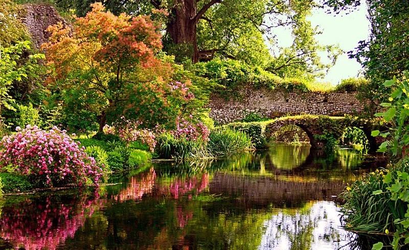 unvergessliche Parks und Gärten, für eine romantische Nacht in Italien