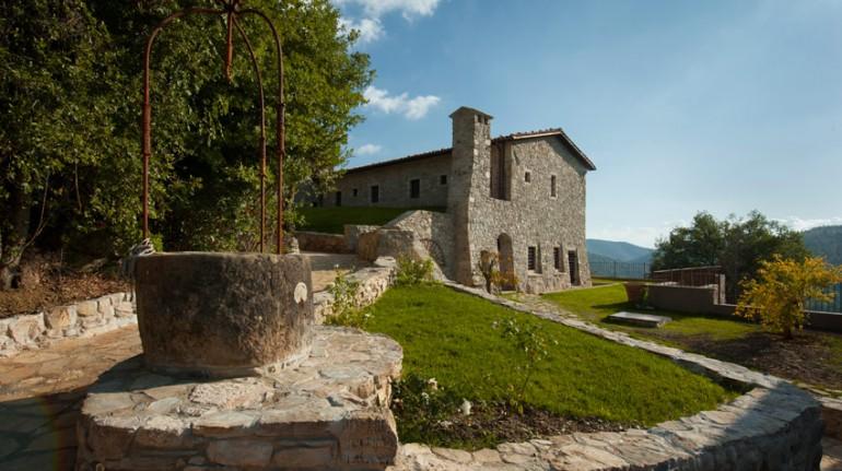 Ein altes Kloster im Herzen Umbriens