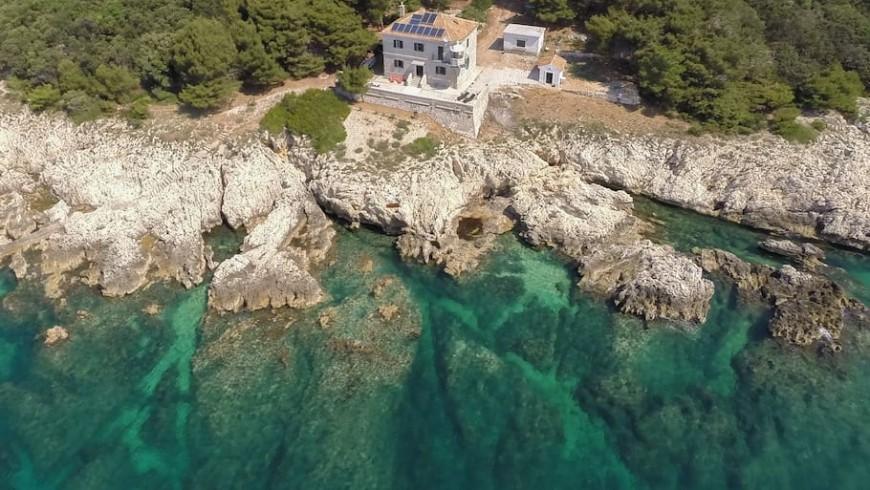Crna Punta Lighthouse, Kroatien