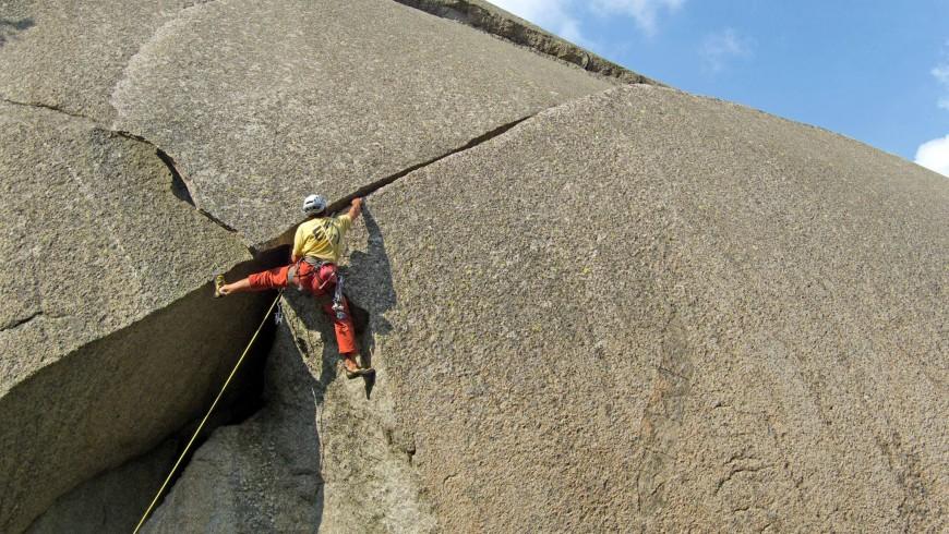 10 Top Kletterorte in Italien - Auf dem Granit des Valle dell'Orco Tal