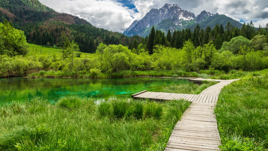 Triglav Naturpark im Slowenien, nur wenige Kilometer von Bled entfernt, Foto via pxhere