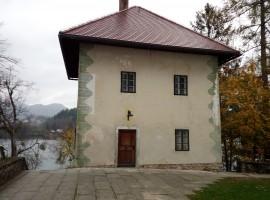 Alte Wohnung auf der Insel von Bled