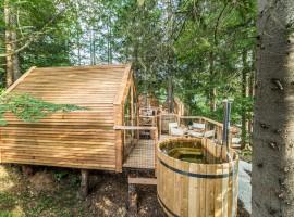 Holzhause im Wald