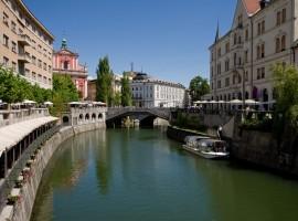 Foto Ljubljana, Grünes und umweltfreundliches Reisen nach Slowenien