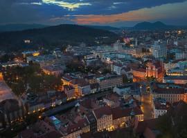 Aussicht auf Ljubljana, Grünes und umweltfreundliches Reisen nach Slowenien