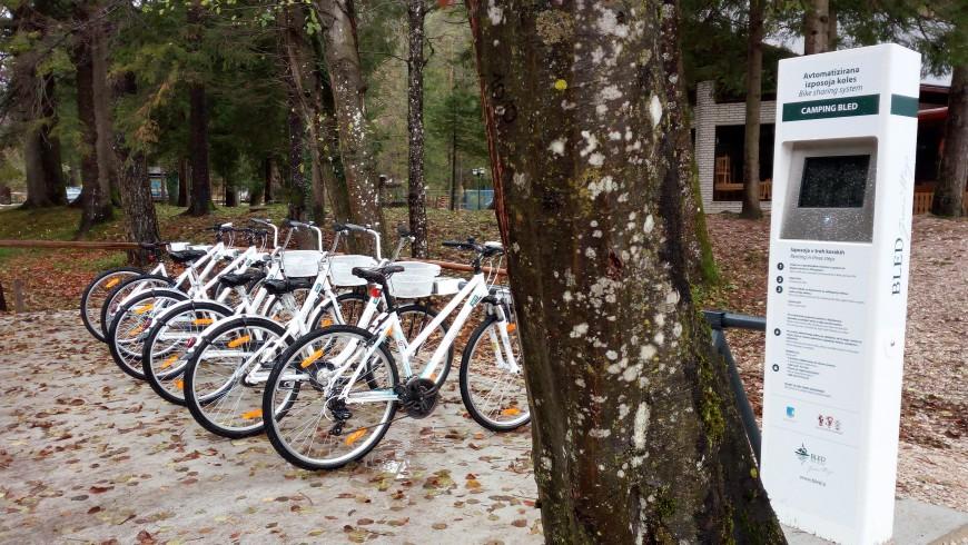 Verleih von Fahrrädern in der Nähe vom Camping, Foto von Silvia Ombellini