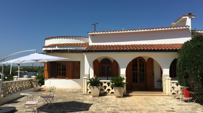 Ökologisches Villa Luce B&B - Apulien