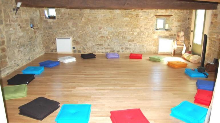 yoga room in Sacreterre Room&Breakfast – Emilia Romagna