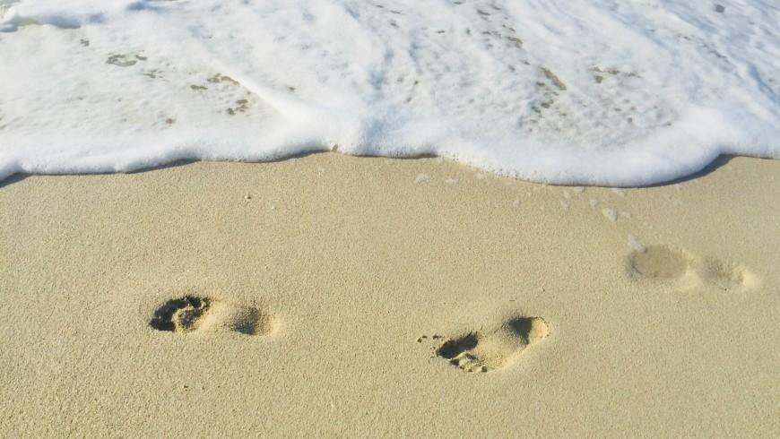 Positive Fußspuren hinterlassen
