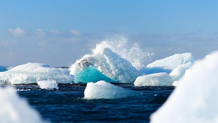 Island Iceberg Schmelzen des Eises