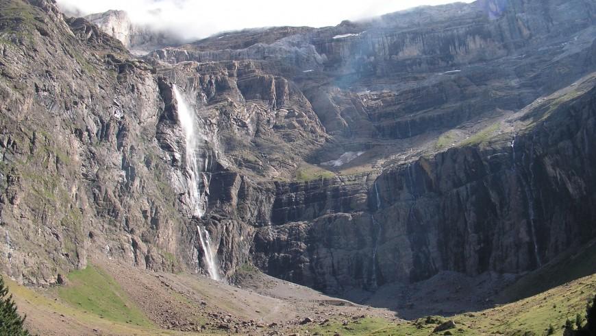 Wasserfall von Gavarnie, Frankreich