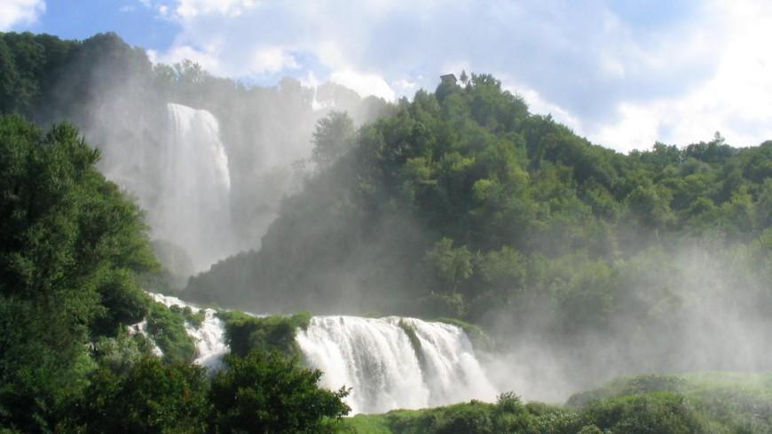 Marmore Wasserfälle , Italien
