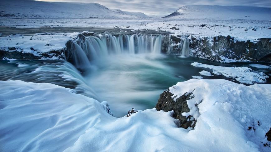 Goðafoss Wasserfaelle , Island