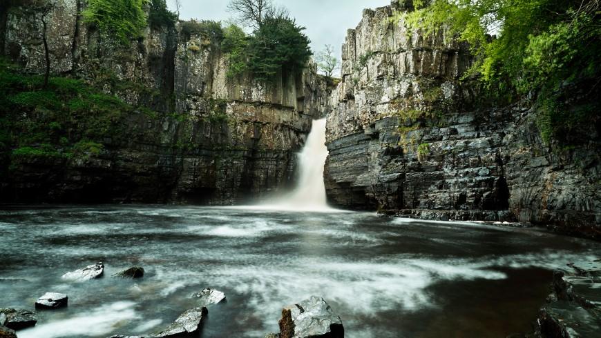High Force Wasserfall, Vereinigtes Königreich
