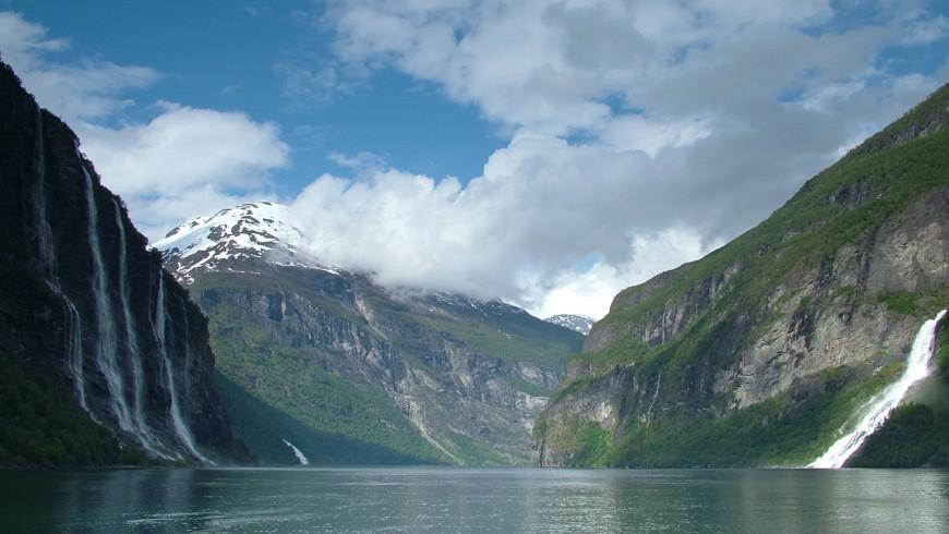 Seven Sisters Wasserfall, Norwegen