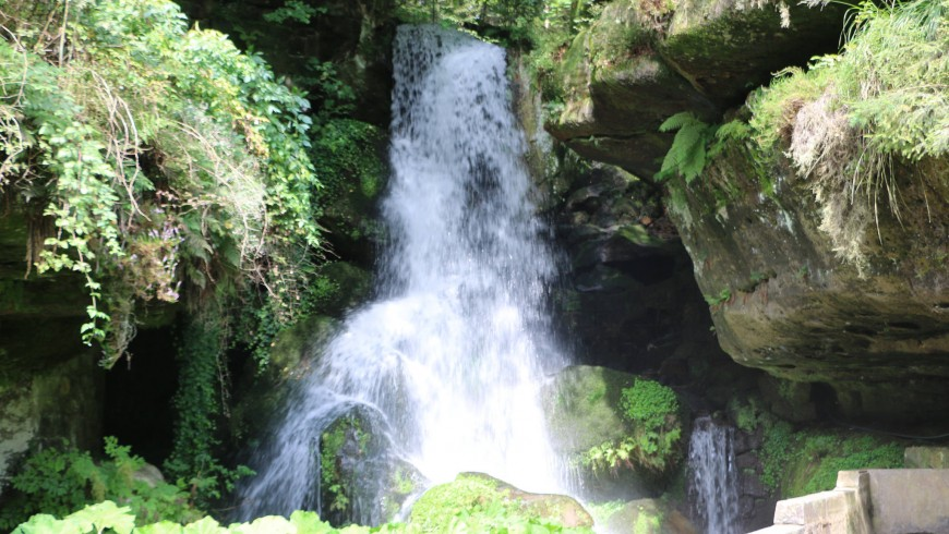 Lichtenhain Wasserfall, Deutschland