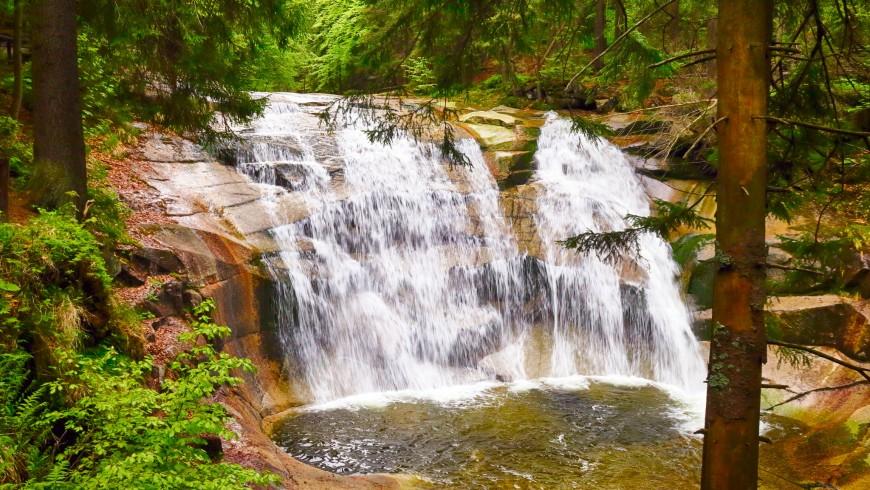 Mumlavký Wasserfall