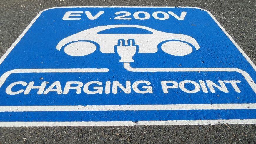 charging point Elektrische Autos