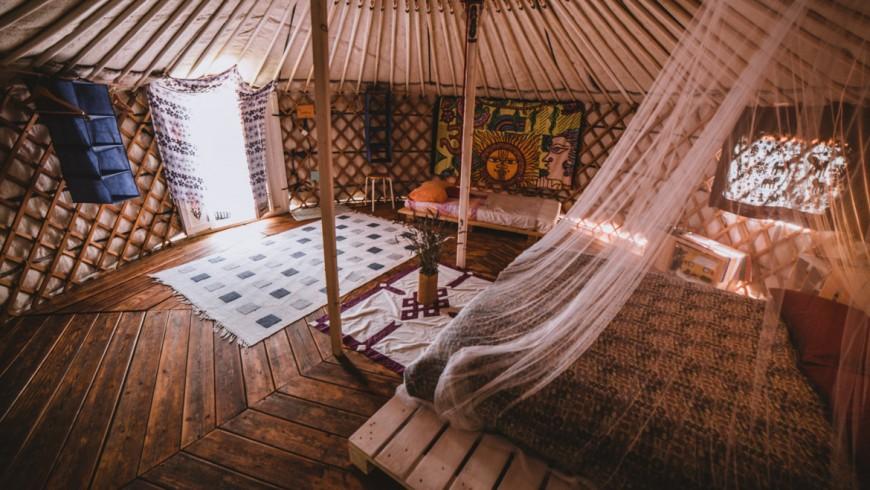 Nacht in Yurta