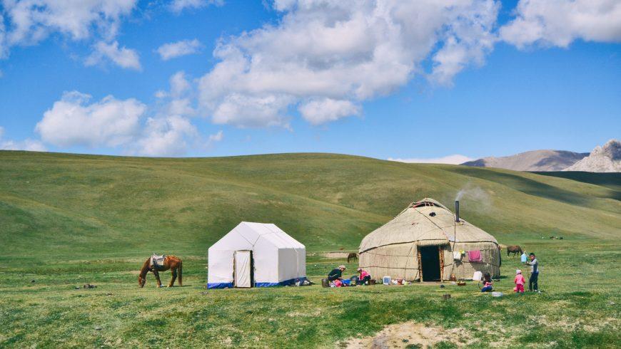 Mongole yurte
