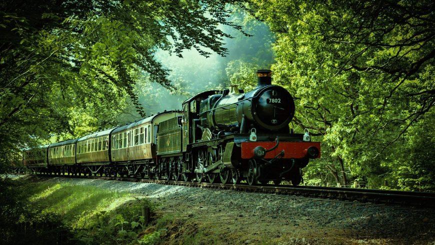 umweltfreundliche anreise, Near Bewdley, England