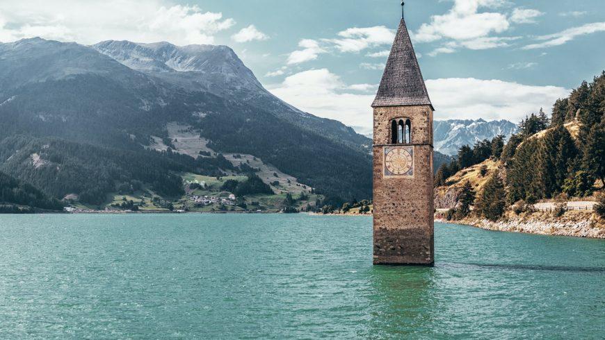 Unbekannter Ort Graun im Vinschgau