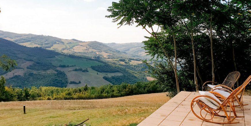 Zwischen den Hügeln der Emilia