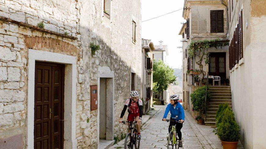 Freizeit Route Istrien