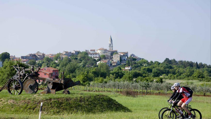 Sternschnuppen Strecke in Istrien