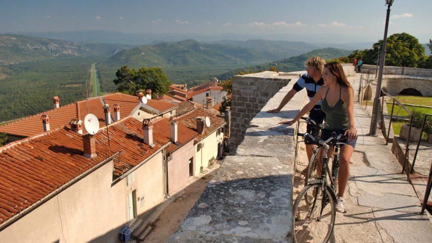 E-Bike Route Zentral Istrien