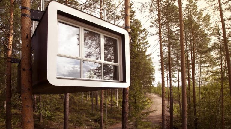 Ökohotel Baumhaus Schweden