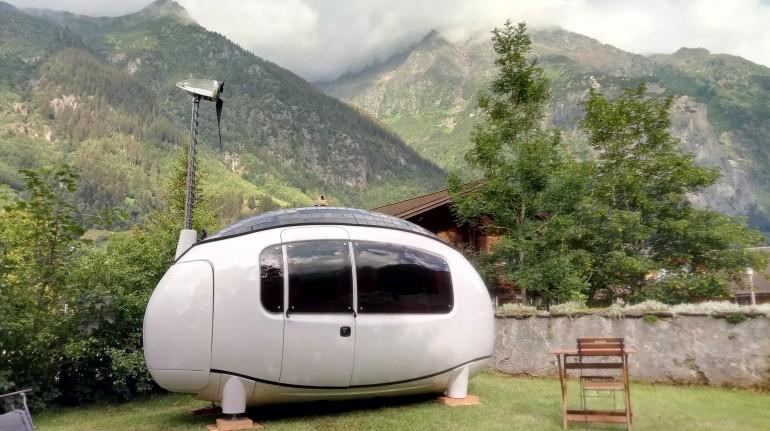Oköhotel Ökokapsel Gutannen, Schweiz