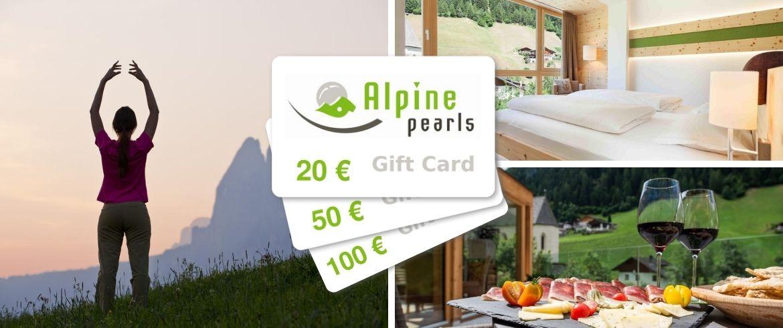 Alpine-Pearls-Geschenkkarte