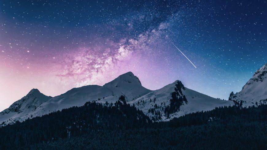 Wunder der Berge und der Alpen.