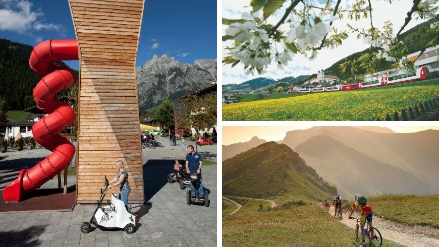 weiche Mobilität in den Alpen